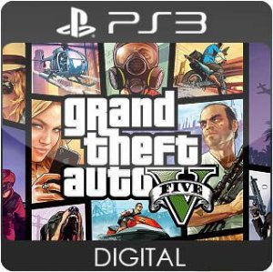 Grand Theft Auto V PS3 Mídia Digital