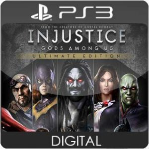 Injustice: Gods Among Us Ultimate Edition PS3 Mídia Digital