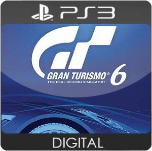 Gran Turismo 6 PS3 Mídia Digital