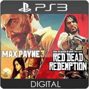 Max Payne 3 and Red Dead Redemption Bundle PS3 Mídia Digital