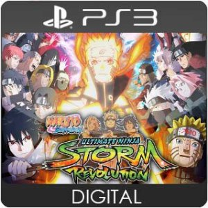 NARUTO SHIPPUDEN: Ultimate Ninja STORM Revolution PS3 Mídia Digital