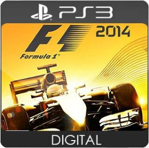 F1 2014 PS3 Mídia Digital
