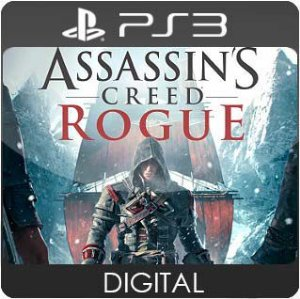 Assassins Creed Rogue PS3 Mídia Digital