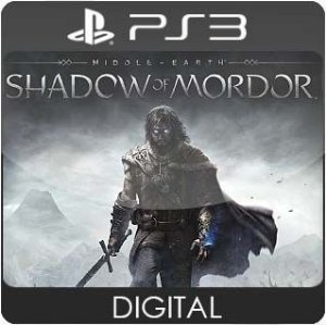Middle-Earth: Shadow of Mordor PS3 Mídia Digital