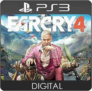 Far Cry 4 PS3 Mídia Digital