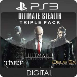 Ultimate Stealth Triple Pack PS3 Mídia Digital