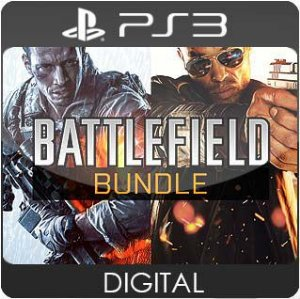 Battlefield Bundle PS3 Mídia Digital