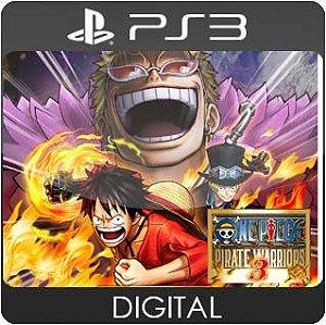 One Piece: Pirate Warriors 3 PS3 Mídia Digital