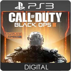 Call of Duty: Black Ops III PS3 Mídia Digital