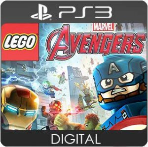 LEGO Marvel's Avengers PS3 Mídia Digital