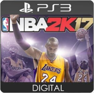 NBA 2K17 PS3 Mídia Digital