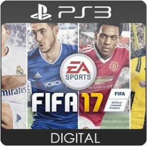 FIFA 17 PS3 Mídia Digital
