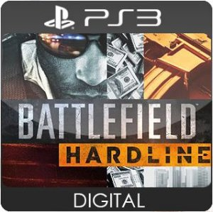 Battlefield Hardline PS3 Mídia Digital