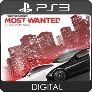 Need for Speed Most Wanted PS3 Mídia Digital