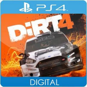 DiRT 4 PS4 Mídia Digital