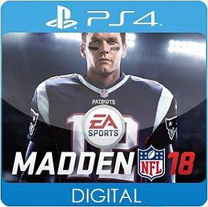 Madden NFL 18 PS4 Mídia Digital
