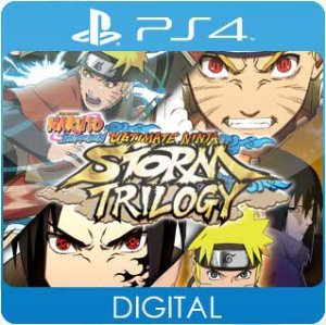 NARUTO SHIPPUDEN: Ultimate Ninja STORM Trilogy PS4 Mídia Digital