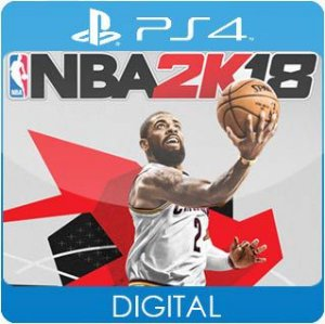 NBA 2K18 PS4 Mídia Digital