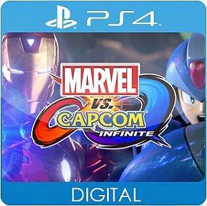 Marvel vs. Capcom: Infinite PS4 Mídia Digital