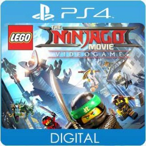 LEGO NINJAGO Movie Video Game PS4 Mídia Digital