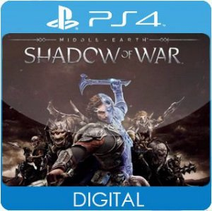 Middle-Earth: Shadow of War PS4 Mídia Digital