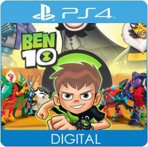 Ben 10 PS4 Mídia Digital