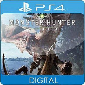 Monster Hunter: World PS4 Mídia Digital