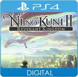 Ni no Kuni II: Revenant Kingdom PS4 Mídia Digital