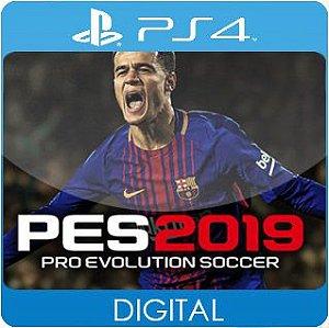 Pro Evolution Soccer 2019 PS4 Mídia Digital