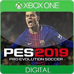 Pro Evolution Soccer 2019 Xbox One Mídia Digital