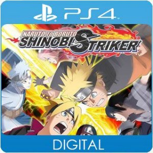 Naruto to Boruto: Shinobi Striker PS4 Mídia Digital