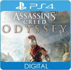 Assassin's Creed Odyssey PS4 Mídia Digital