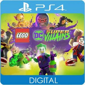 LEGO DC Super-Villains PS4 Mídia Digital