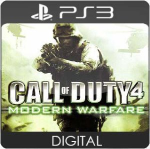 Call of Duty 4: Modern Warfare PS3 Mídia Digital
