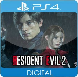 Resident Evil 2 PS4 Mídia Digital
