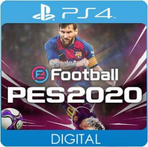PES 2020 PS4 Mídia Digital