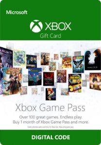 Cartão Xbox Game Pass 1 Mês