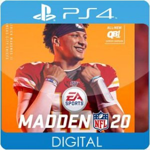 Madden NFL 20 PS4 Mídia Digital
