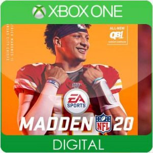 Madden NFL 20 Xbox One Mídia Digital