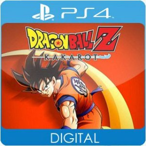 DRAGON BALL Z: KAKAROT PS4 Mídia Digital