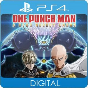 ONE PUNCH MAN: A HERO NOBODY KNOWS PS4 Mídia Digital