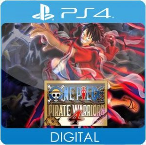 One Piece: Pirate Warriors 4 PS4 Mídia Digital