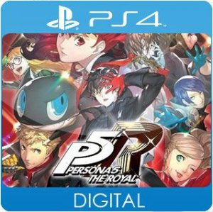 Persona 5 Royal PS4 Mídia Digital