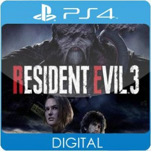Resident Evil 3 PS4 Mídia Digital