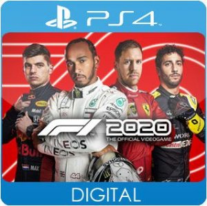 F1 2020 PS4 Mídia Digital