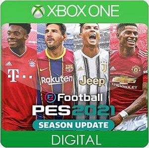 PES 2021 Season Update Standard Edition Xbox One Mídia Digital