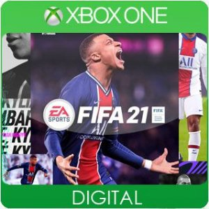FIFA 21 Xbox One Mídia Digital