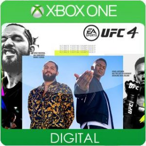 UFC 4 Xbox One Mídia Digital