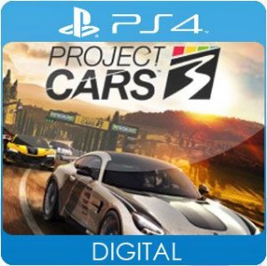 Project CARS 3 PS4 Mídia Digital