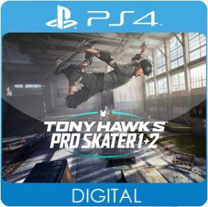 Tony Hawk's Pro Skater 1 + 2 PS4 Mídia Digital
